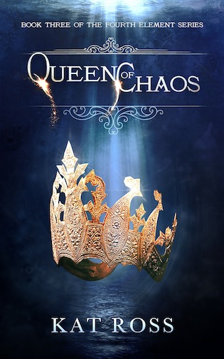 queen of chaos by kat ross cover reveal