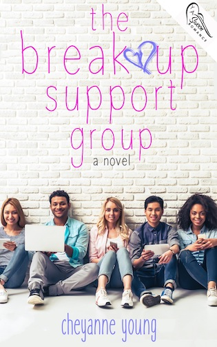 the breakup support group by cheyanne young cover reveal