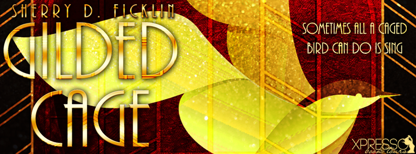 The Gilded Cage by Sherry D. Ficklin | Cover Reveal banner