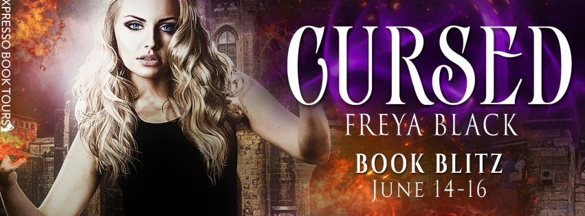 Cursed by Freya Black – Blitz + Giveaway