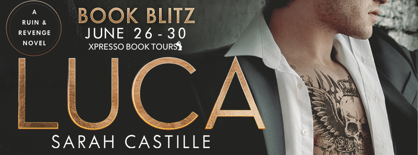 Book Blitz: Luca by Sarah Castille