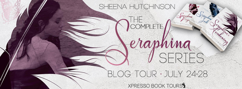 [Blog Tour] THE COMPLETE SERAPHINA SERIES by Sheena Hutchinson @Sheena_Hutch @XpressoTours #UBReview #Giveaway