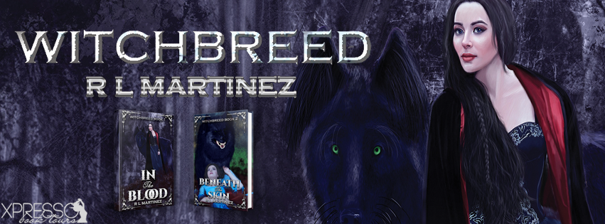 The Witchbreed Series by R.L. Martinez – Cover Reveal + Giveaway