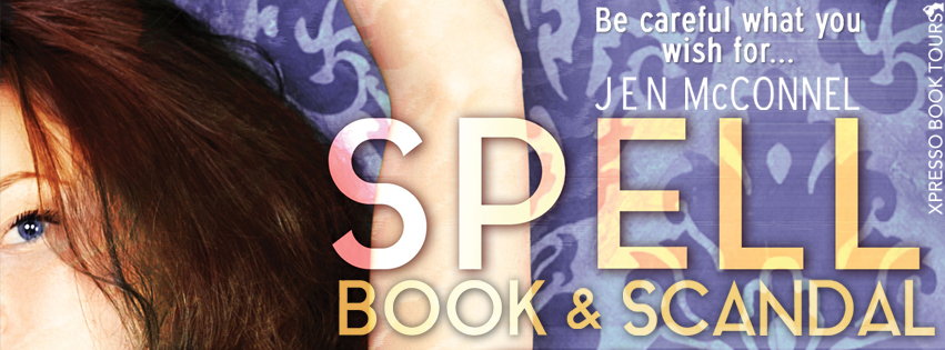 Spell Book & Scandal by Jen McConnel – Cover Reveal