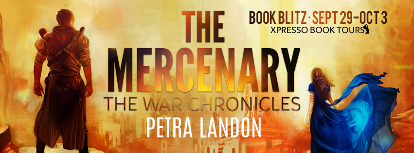 Book Blitz: The Mercenary by Petra Landon