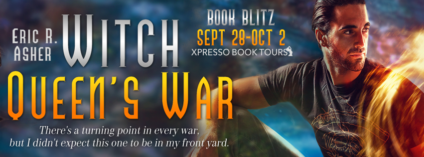 Witch Queen's War blog tour banner
