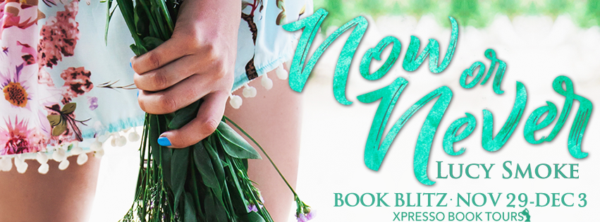 Book Blitz: Now or Never by Lucy Smoke