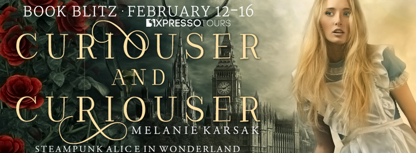 Blitz + #Giveaway: Curiouser and Curiouser by Melanie Karsak