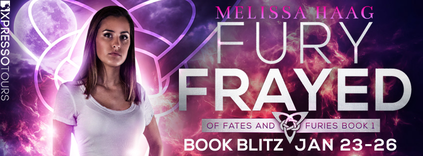 Fury Frayed by Melissa Haag – Blitz and Giveaway