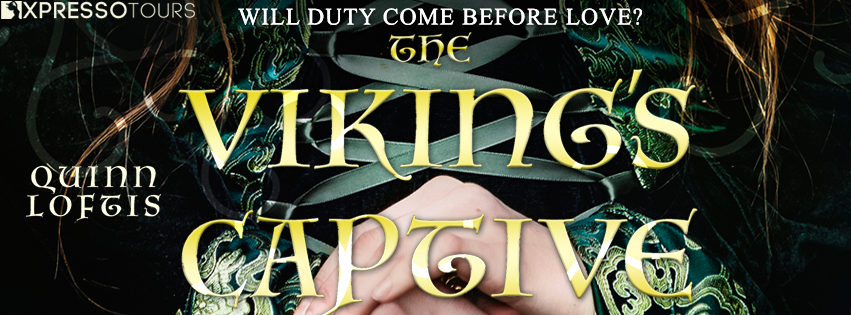 Cover Reveal: The Viking's Captive by Quinn Loftis