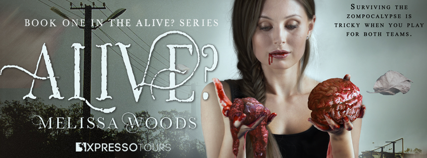 Cover Reveal: Alive? by Melissa Woods