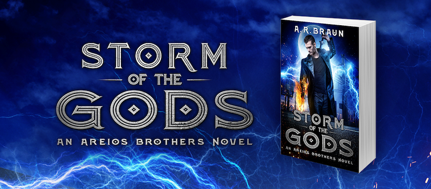 Cover Reveal: Storm of the Gods by Amy Braun + Giveaway (INTL)