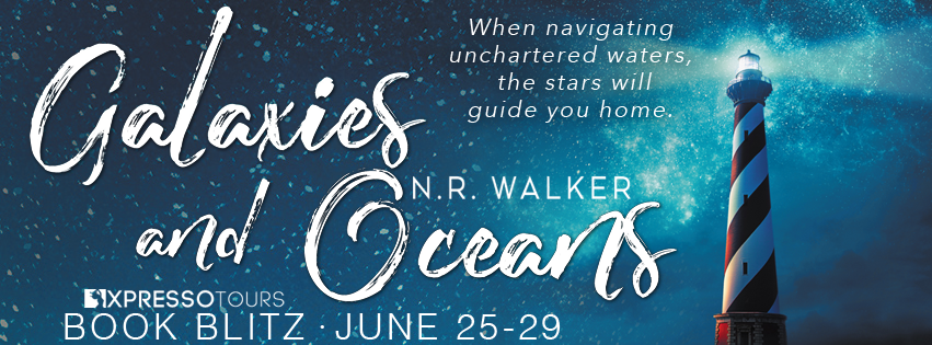 Book Blitz: Galaxies and Oceans by N.R. Walker