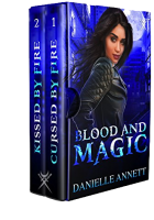 Blitz Sign-Up: Blood & Magic Volume 1 by Danielle Annett