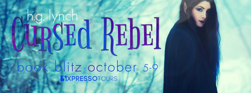 Book Blitz: Cursed Rebel by H.G. Lynch