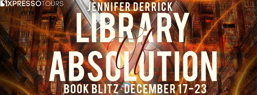Book Blitz: Library of Absolution by Jennifer Derrick — Excerpt + Giveaway (INTL)