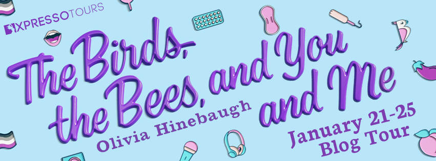 THE BIRDS, BEES, AND YOU AND ME BY OLIVIA HINEBAUGH [Q&A & Giveaway]