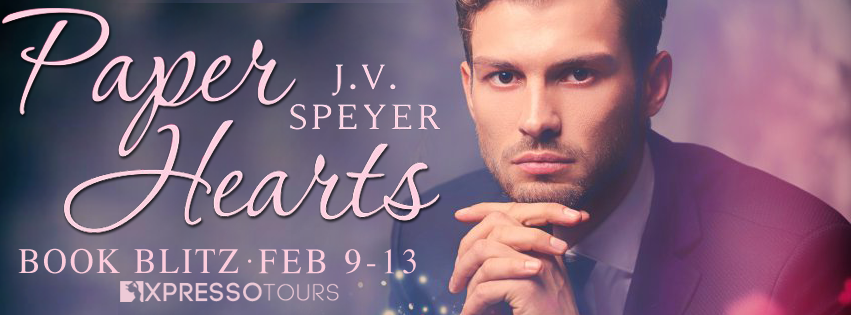 {Excerpt+Giveaway} Paper Hearts by J.V. Speyer