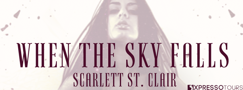 Cover Reveal: When the Sky Falls by Scarlett St. Clair