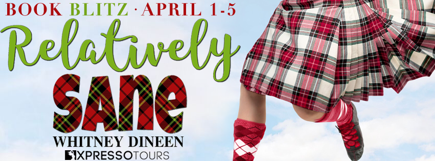 {Excerpt+Giveaway} Relatively Sane by Whitney Dineen