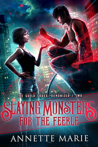Release Day Blitz and Giveaway: Slaying Monsters for the Feeble
