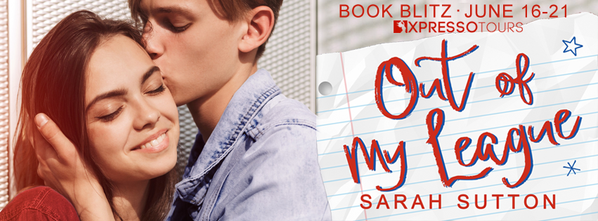 Book Blitz with Giveaway:  Out of My League by Sarah Sutton