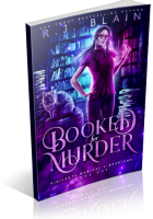 Blitz Sign-Up: Booked for Murder by R.J. Blain