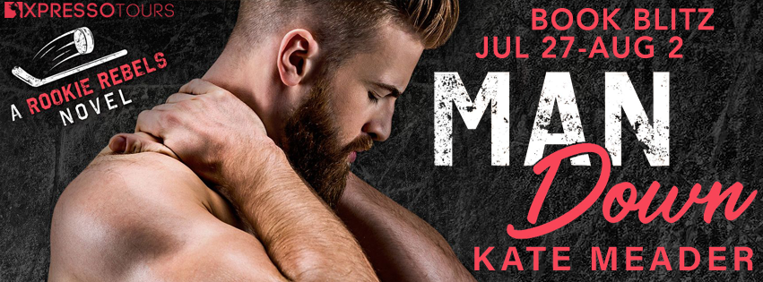 Release Blitz with Giveaway:  Man Down (Rookie Rebels #3) by Kate Meader